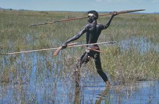 indigenous hunter