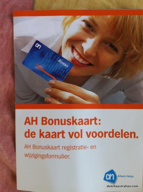 ah bonuskaart