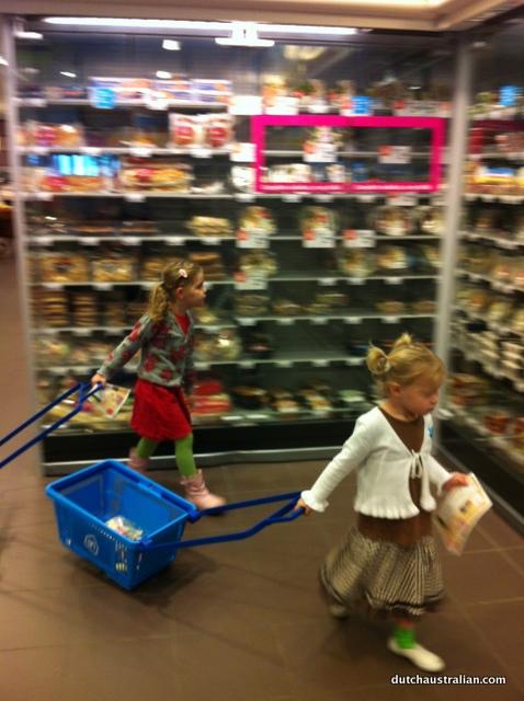 Albert Heijn shopping