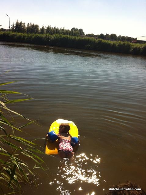 sophia in canal