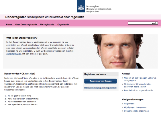 Donor Register NL