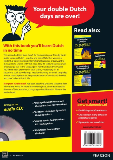 Dutch for dummies back
