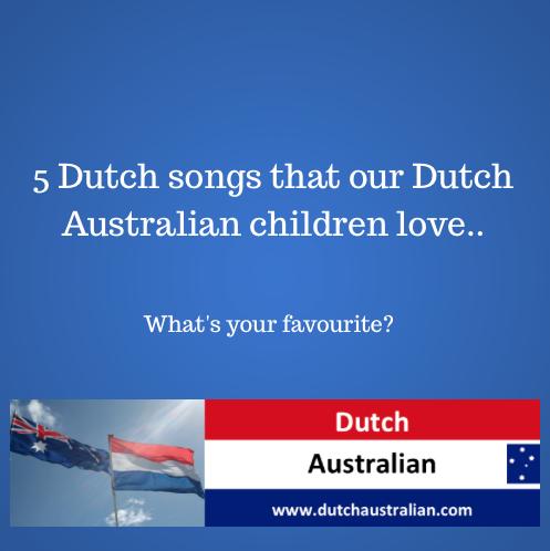 Dutch children's songs