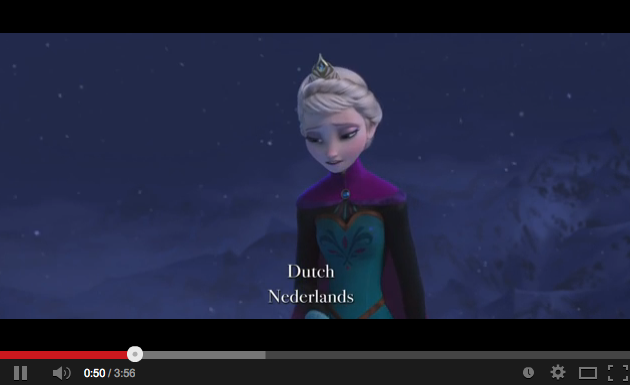 Let it Go - Laat het Los - Dutch/Nederlands