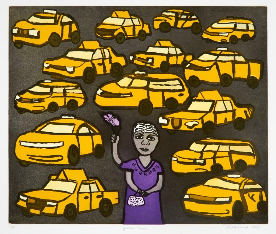 Laurel Nannup, Yellow Taxi 2012 (Medium)