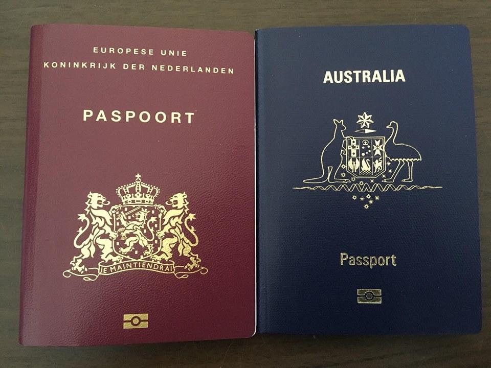 Dutch Australian dual nationality